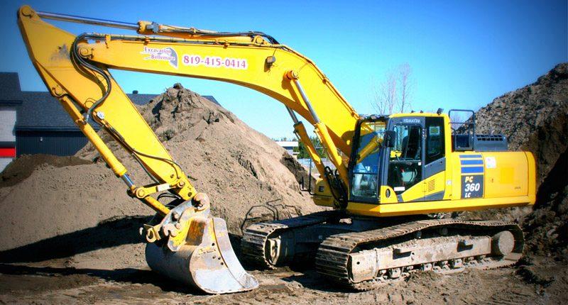 Grandes excavatrices (29 à 40 tonnes)