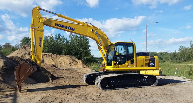 : Moyennes excavatrices (20 à 22 tonnes)